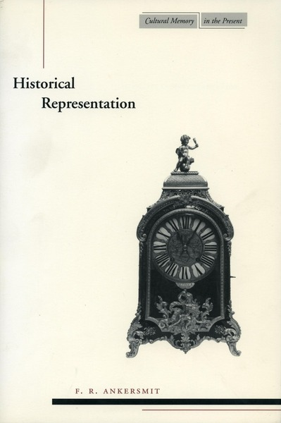 Cover of Historical Representation by F. R. Ankersmit