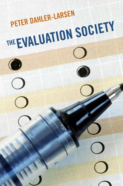 Cover of The Evaluation Society by Peter Dahler-Larsen
