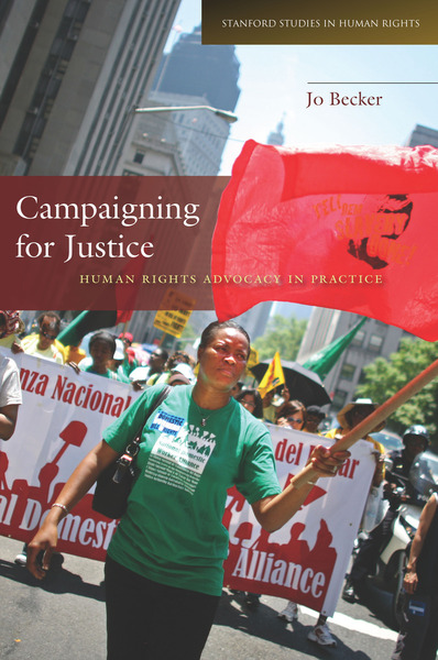 Cover of Campaigning for Justice by Jo Becker