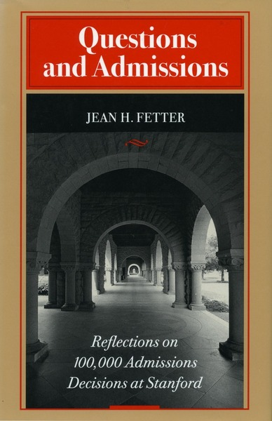 Cover of Questions and Admissions by Jean H. Fetter