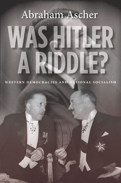 Cover of Was Hitler a Riddle? by Abraham Ascher