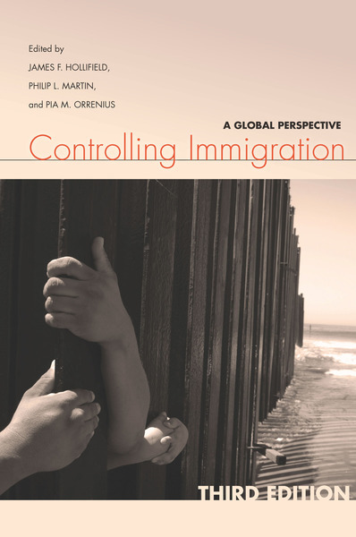 Cover of Controlling Immigration by Edited by James F. Hollifield, Philip L. Martin, and Pia M. Orrenius
