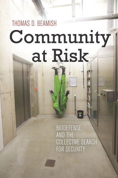 Cover of Community at Risk by Thomas D. Beamish