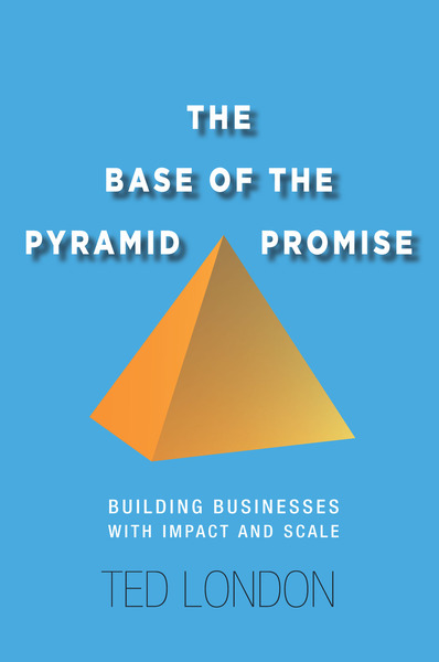 Cover of The Base of the Pyramid Promise by Ted London