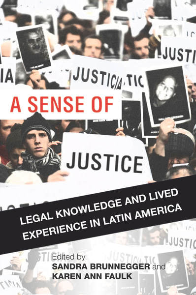 Cover of A Sense of Justice by Edited by Sandra Brunnegger and Karen Ann Faulk