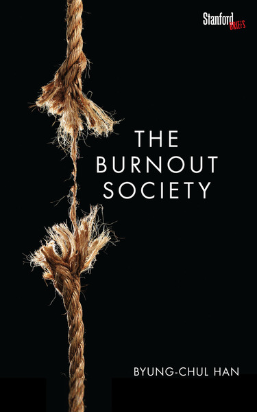 Cover of The Burnout Society by Byung-Chul Han