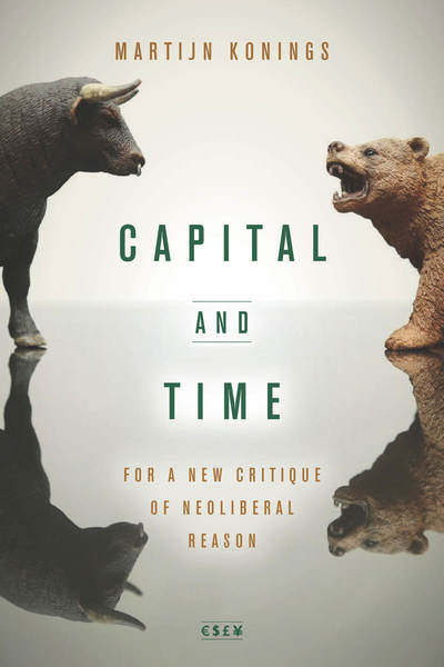 Cover of Capital and Time by Martijn Konings