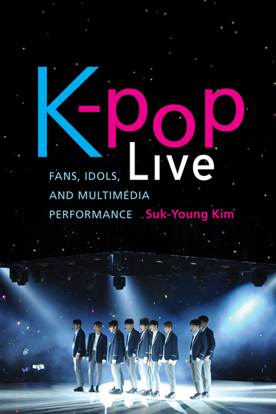 Cover of K-pop Live by Suk-Young Kim