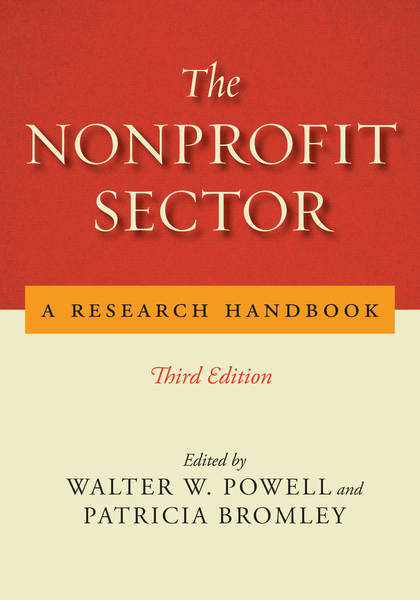 Cover of The Nonprofit Sector by Edited by Walter W. Powell and Patricia Bromley