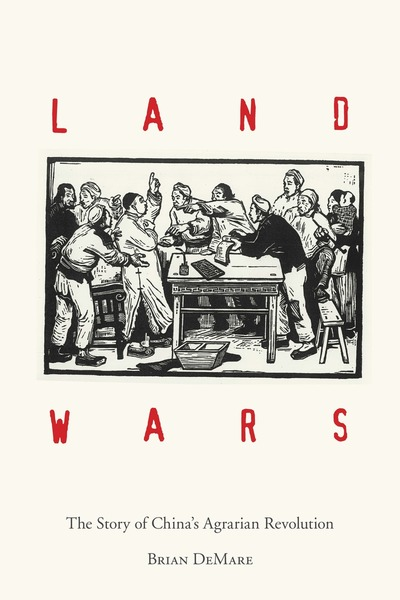 Cover of Land Wars by Brian DeMare