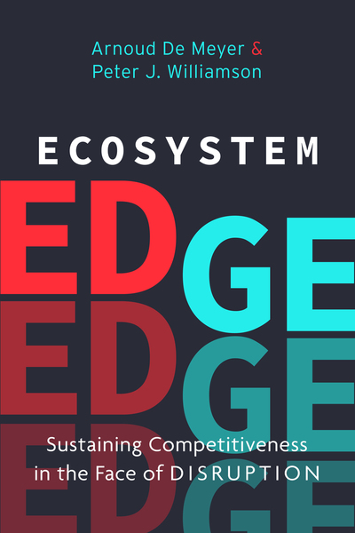 Cover of Ecosystem Edge by Arnoud De Meyer and Peter J. Williamson