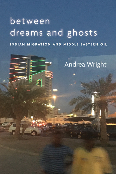 Cover of Between Dreams and Ghosts by Andrea Wright