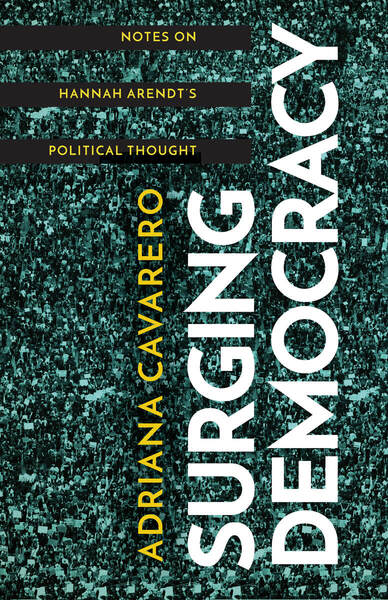 Cover of Surging Democracy by Adriana Cavarero