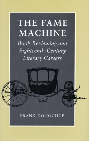Cover of The Fame Machine by Frank Donoghue
